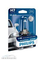 Автолампа H7 PHILIPS 12-55 White Vision 1шт.блистер