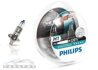Автолампа H1 PHILIPS 12-55W +130% X-TREME VISION 2шт ЕВРОБОКС